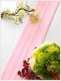 ピンク系重ね衿